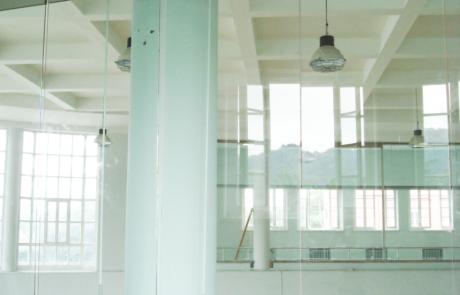 CONI-Rome-progetto realizzato con accessori per vetro casma