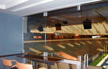 Sistemi scorrevoli in vetro - CASMA - Lucas Oil Stadium