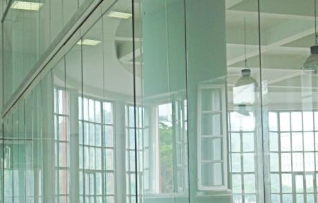 CONI Headquarter progetto realizzato con accessori per vetro casma
