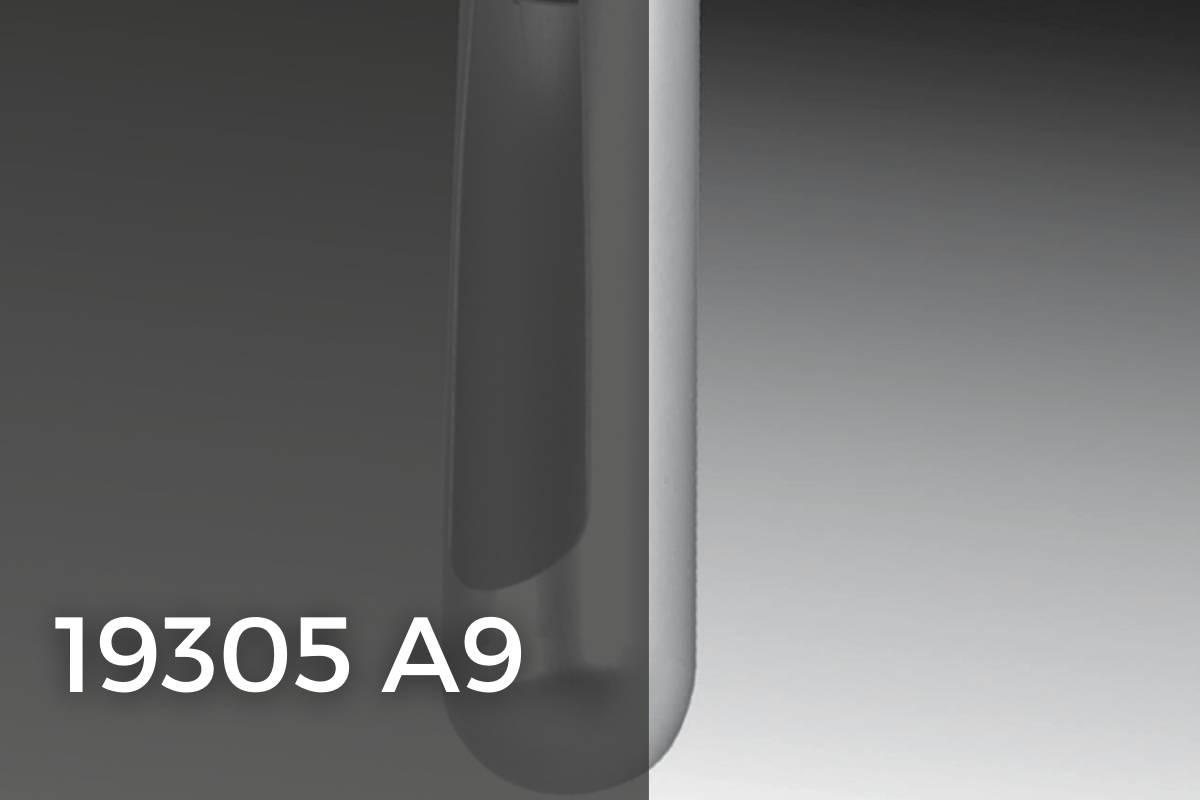 19305A9 accessori per porte in vetro temprato