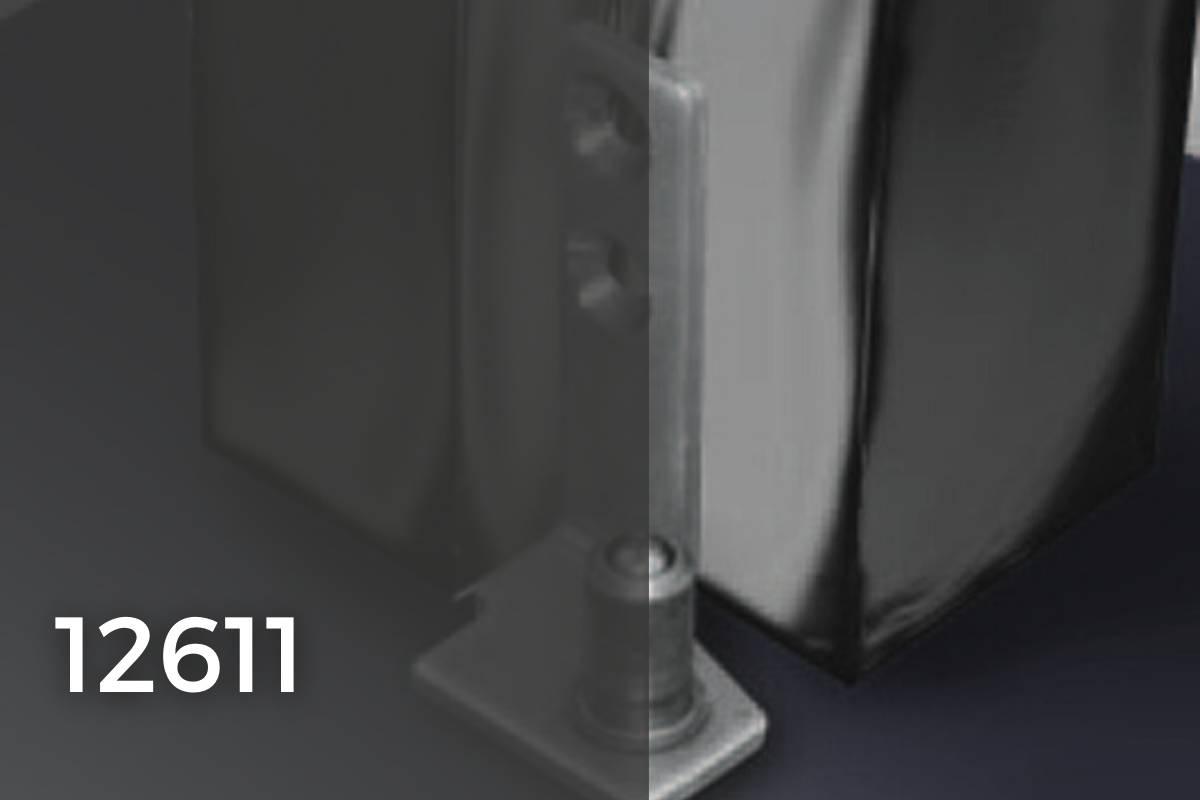12611 accessori per porte in vetro temprato