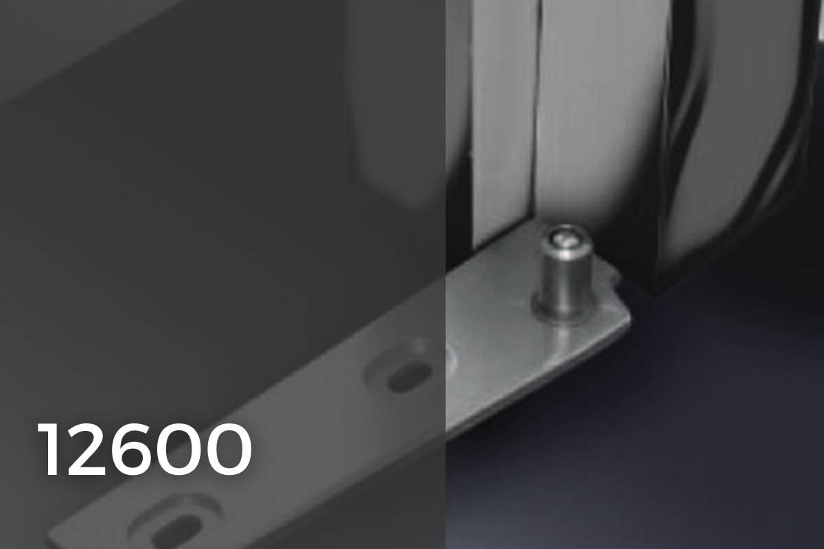 12600 accessori per porte in vetro temprato